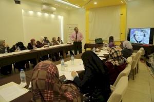 إنجاز فلسطين تنفذ يوم تدريبي لمستفيدي مشروع التشغيل الإبداعي في قطاع غزة.
