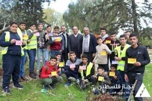 """ضمن مشروع يونيسيف..إنجاز فلسطين تنفذ مبادرة """"سنبقى"""""""