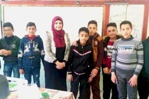 """""""معاً نصنع التغيير"""".. المتطوعة حلا محمد"""