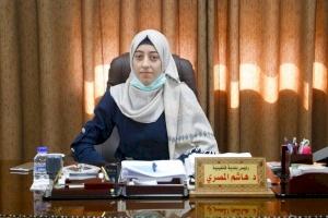طالبات إنجاز فلسطين يتولين مناصب إدارية في بلدية قلقيلية ليوم واحد