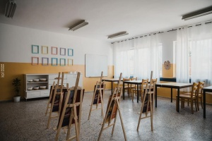 """ضمن مبادرة """"مبدعون"""" .. إعادة تأهيل غرفة صفية في جمعية جيل الأمل للأيتام في القدس"""