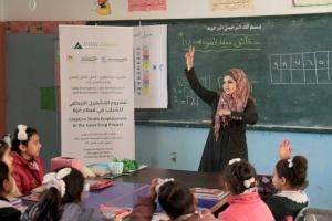 إنجاز فلسطين تختتم مشروع التشغيل الإبداعي للشباب الفلسطيني في قطاع غزة