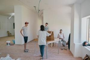 شركة Paleventorالطلابية: تأهيل غرفة صفية في مركز لعالج مشاكل النطق وصعوبات التعلم
