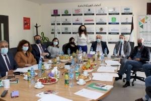 الهيئة العامة لإنجاز فلسطين ومجلس إدارتها يعقدان اجتماعهما العادي