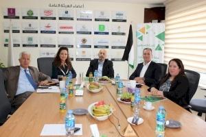 مجلس إدارة إنجاز فلسطين يعقد اجتماعه الدوري